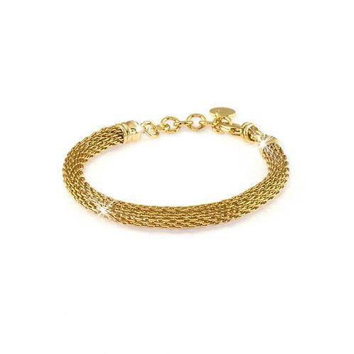 Unoaerre Bracciale in bronzo dorato