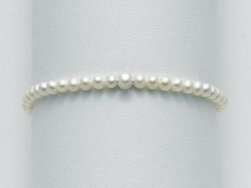 Miluna Bracciale Perle Regina PBR2673AGV