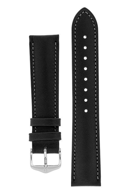 Cinturino per orologio in pelle nero