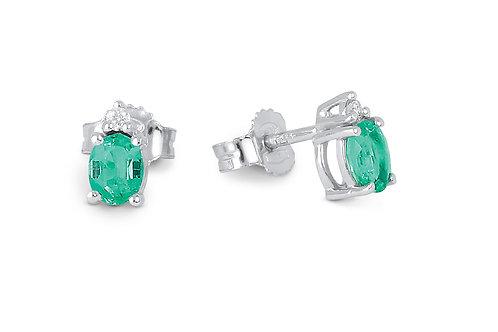Raggi Orecchini Smeraldi e Diamanti RA0442