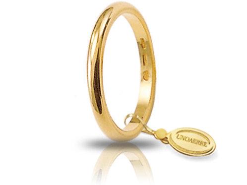 Fede Unoaerre Francesina 3 Gr. Oro Giallo