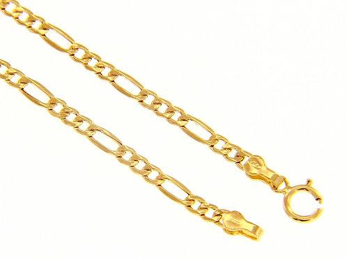 Raggi Bracciale a catena oro giallo