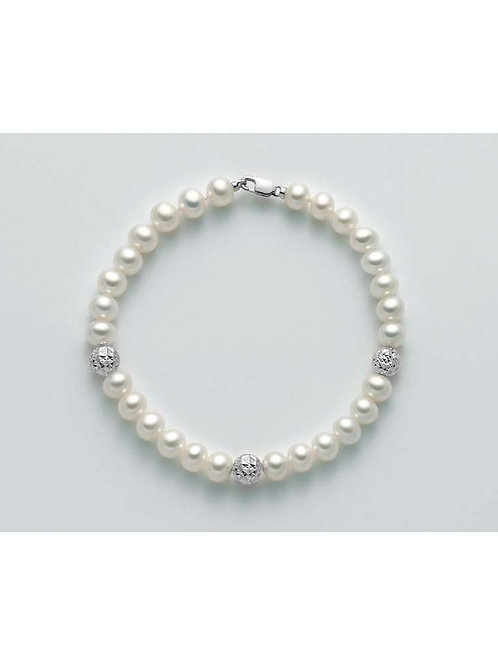 Miluna Bracciale Perle Regina PBR2305B
