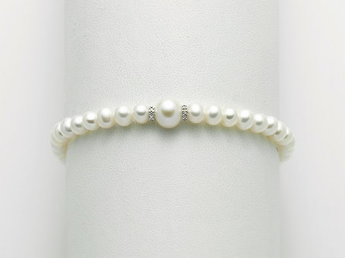 Miluna Bracciale Perle Regina PBR3073
