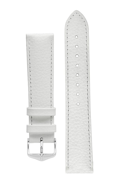 Cinturino per orologio in pelle bianco