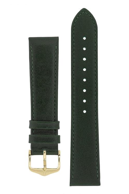 Cinturino per orologio in pelle verde