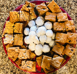 Office Party Dessert Tray