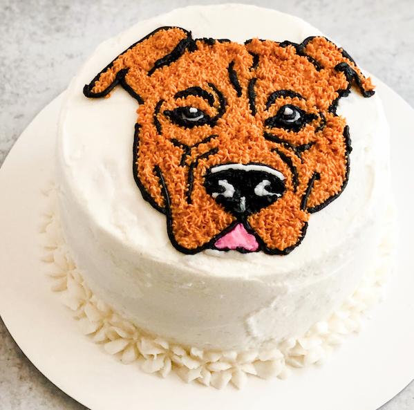 Pitbull Cake