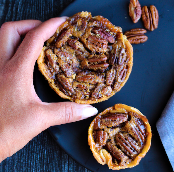 Mini and Regular Pecan Pie