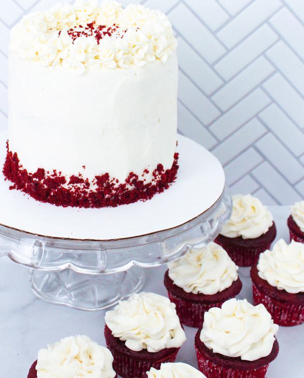 Red Velvet Cake & Cupcakes