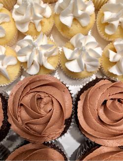 Full and Mini Cupcakes
