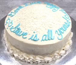 Red Velvet Retirement Cake