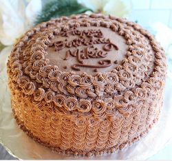 Chocolate Cake w Vanilla Filling