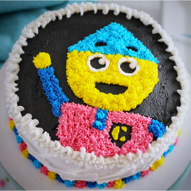 Charlie colorform Cake