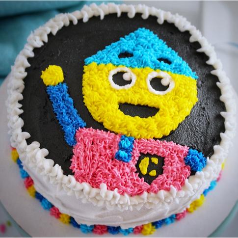 Charlie colorform Cake