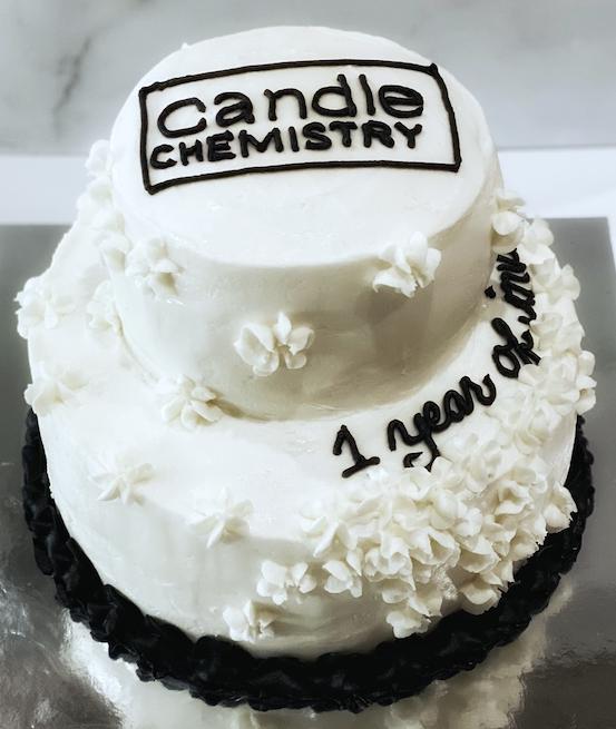 Tiered Logo Cake