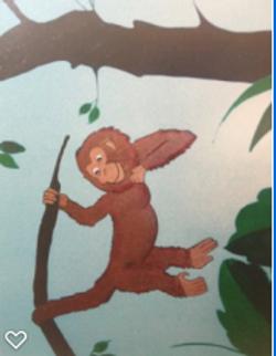 Monkey-acrylic