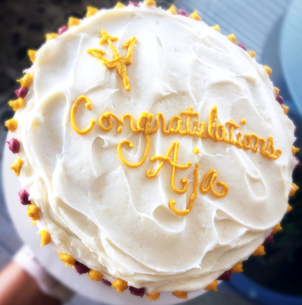 Graduate Carrot Cake
