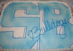 Highschool sheet cake