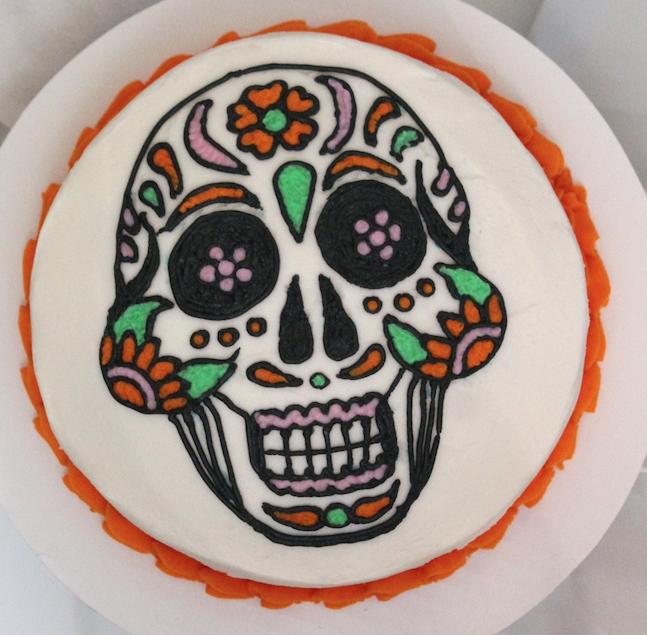 Calavera Cake