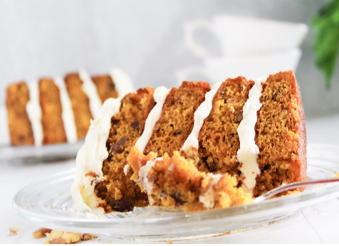 Slice of Carrot Cake