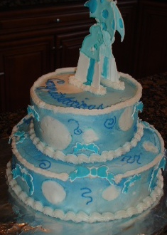Mod Shower Cake