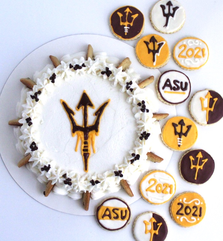 ASU Chocolate Chip Cake