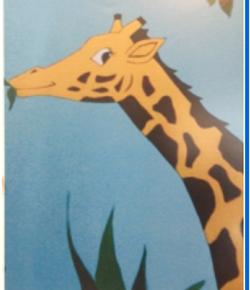 Giraffe-acrylic