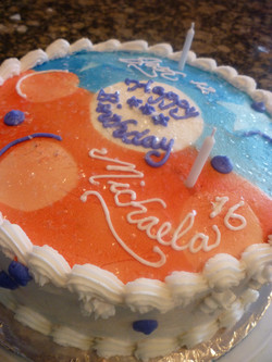 brother/sister cake