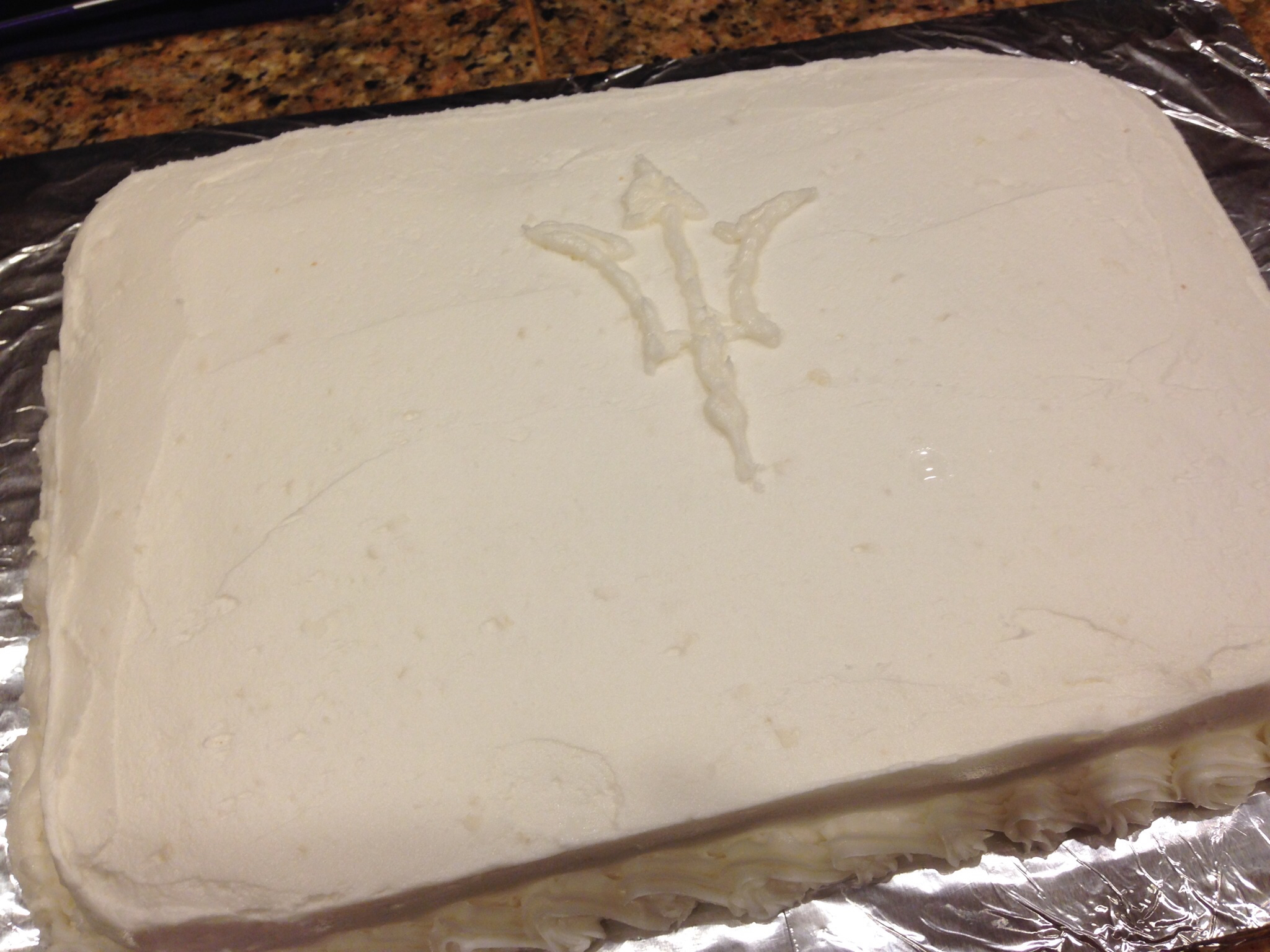 Forks Up Vanilla Cake