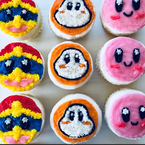 Ninento Character Cupcakes