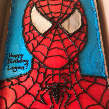 Spiderman Chocolate Cake