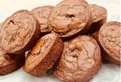 Circle Brownies