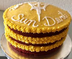 ASU Sun Devil Cake