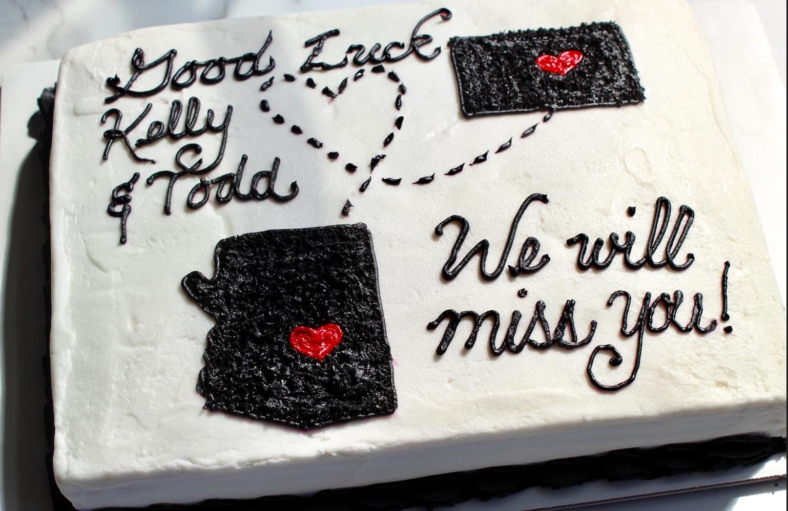 Farewell Sheet Cake
