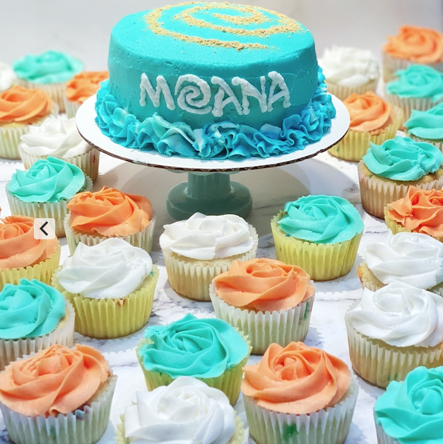 Moana Birthday Set