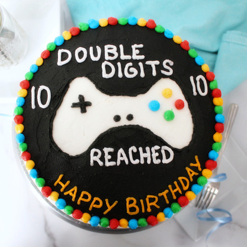 Double Digits Cake