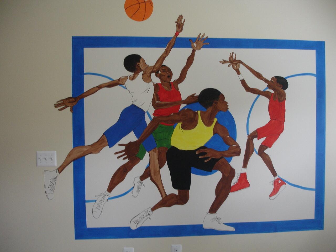 Main wall-mural