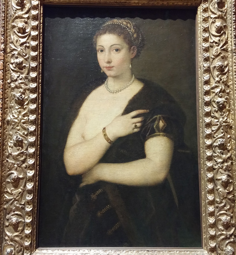 Portrait of a Lady by Titian