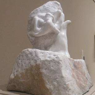 RODIN'S THE HAND OF GOD, THE MET, NEW YORK