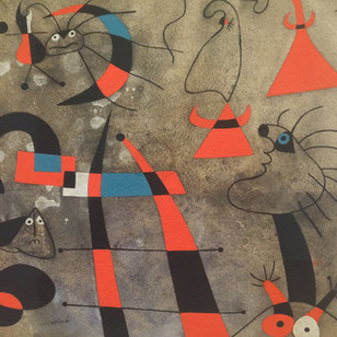 MIRO'S CONSTELLATIONS AT ACQUAVELLA GALLERIES NEW YORK