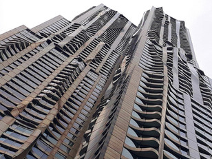 8 SPRUCE STREET BY FRANK O. GEHRY,  NEW YORK