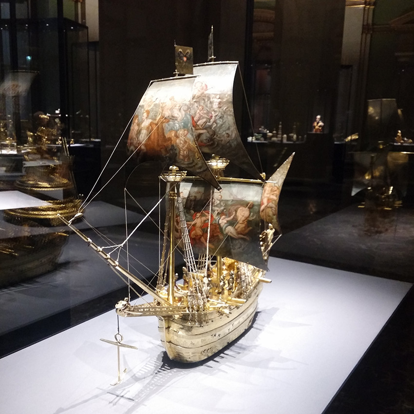 Ship with Sail Paintings
