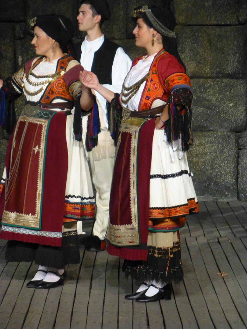 Dora Stratou Costumes