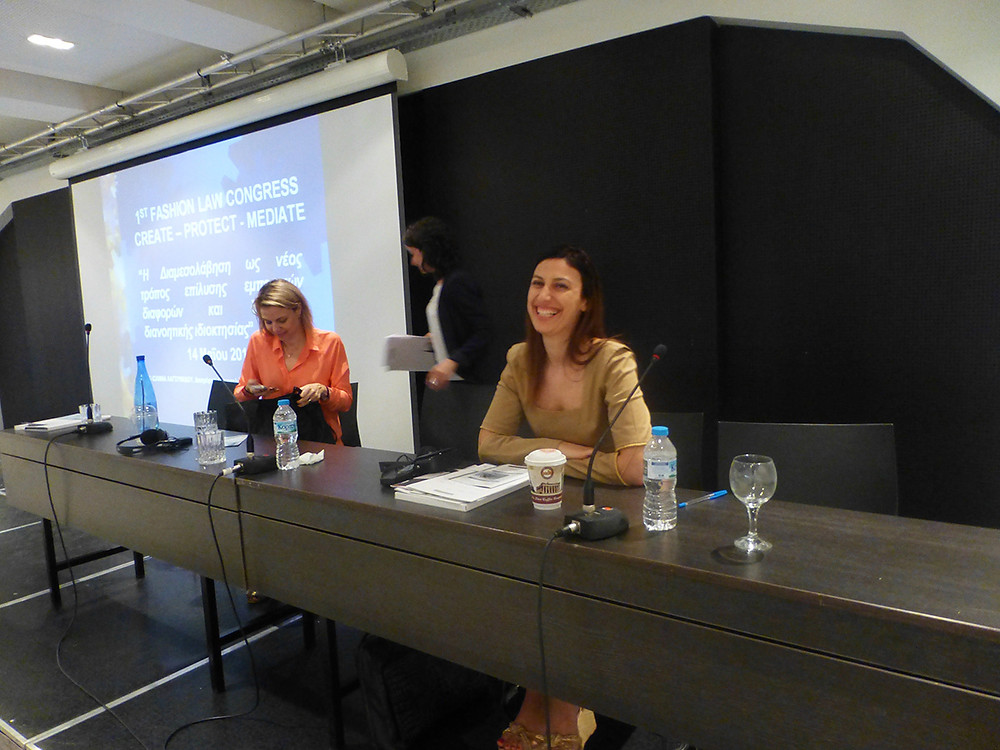 Fashion Designer Eleni Kyriacou at The Fashion Law Conference