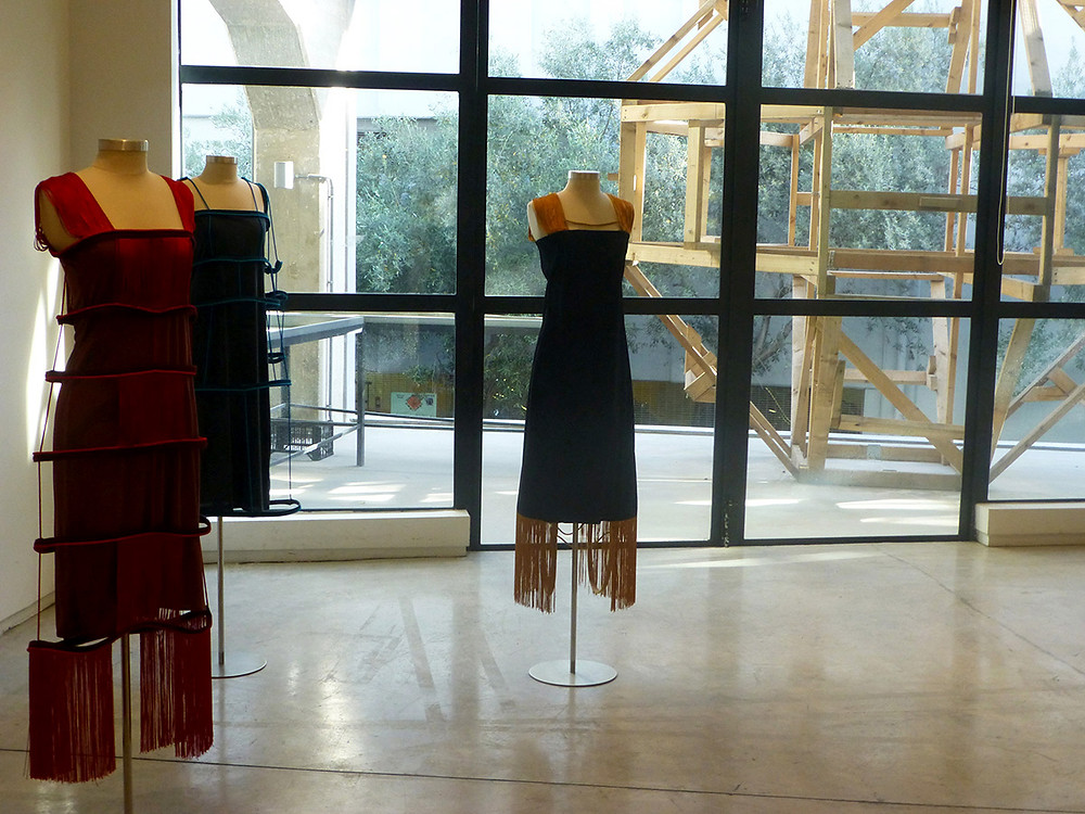 Eleni Kyriacou Collection Gabos Female exhibited at The Fashion Law Conference