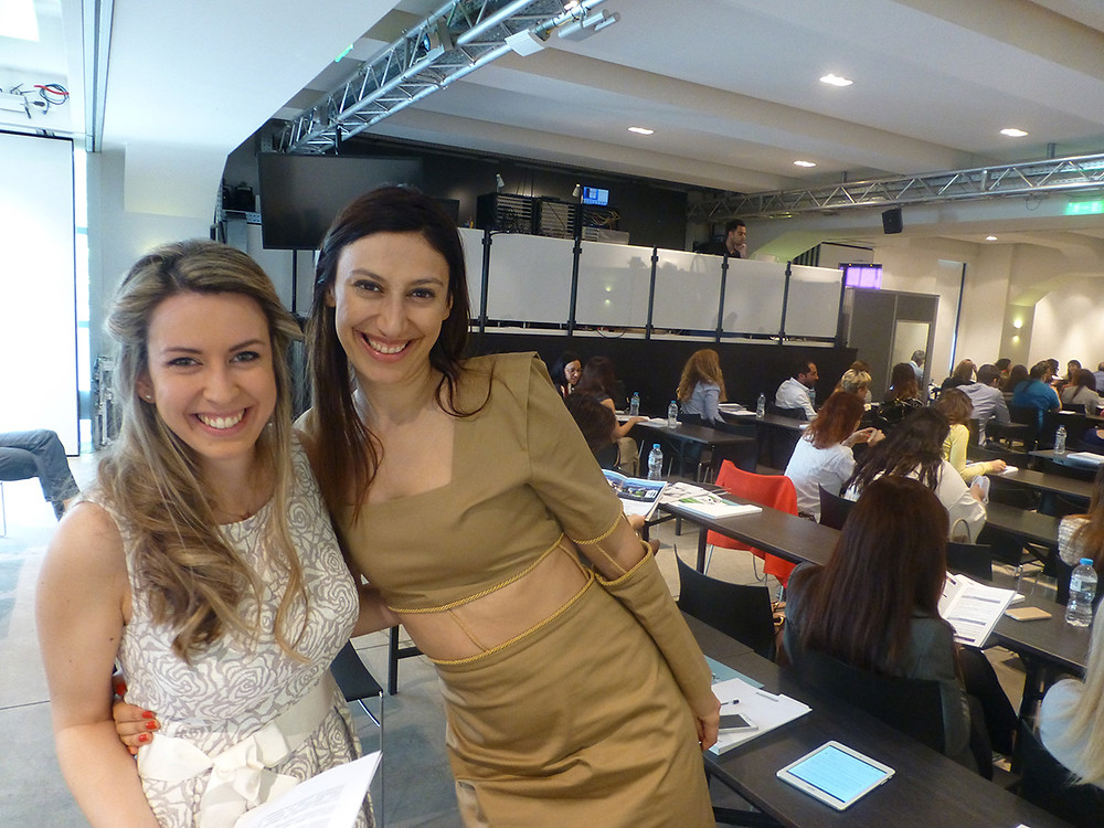 Fashion Law Conference Founder Alexandra Varla and Fashion Designer Eleni Kyriacou