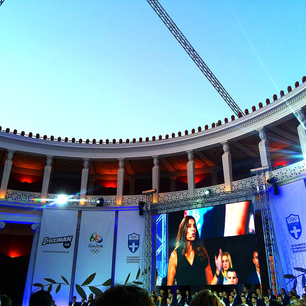 Hellenic Olympic Committee host night at Zappeion