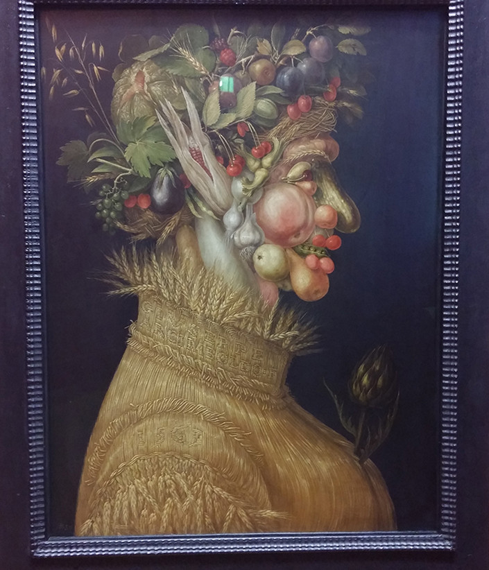 Giuseppe Arcimboldo, Four Seasons (1565)