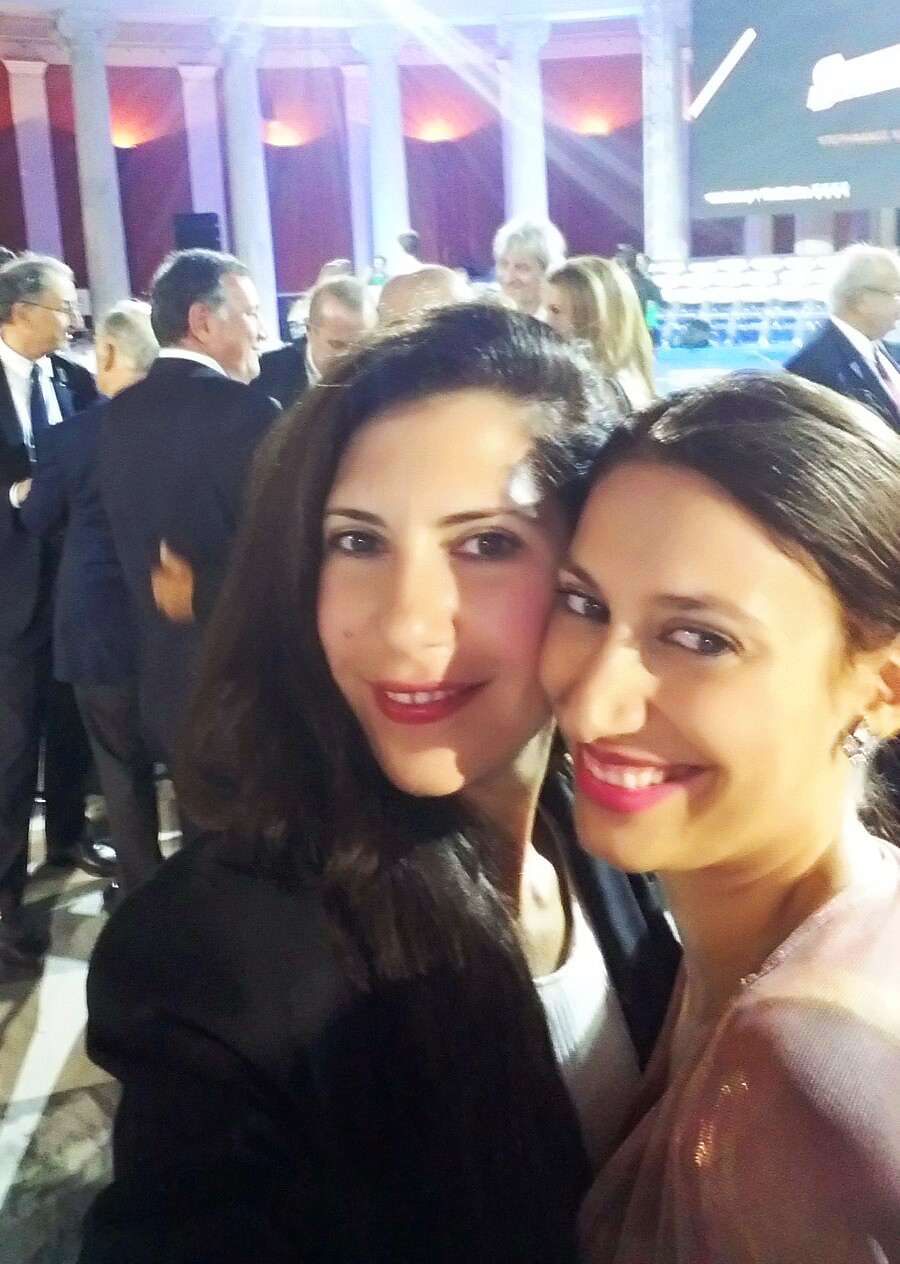 Eleftheria Gkoufa and Eleni Kyriacou